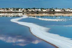 Lac salé de Torrevieja l'espagne Photos stock