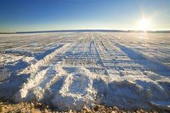 Lac salt Image stock