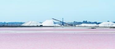 Lac salt Images stock
