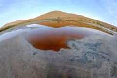Lac salt dans les déserts photos libres de droits