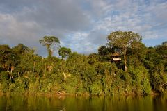 lac sandoval Images libres de droits