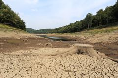 Lac sans eau photos stock