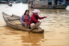 Lac sap de Tonle Image stock
