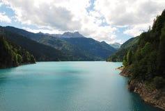 Lac Sauris Images stock