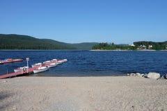 Lac Schluchsee Photographie stock libre de droits