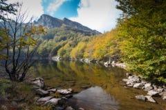 Lac Scuro en automne Photos libres de droits