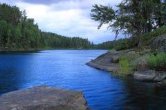 Lac serein Photos stock