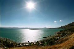 Lac Sevan. Photos stock