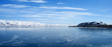 Lac Sevan, Arménie Photo stock