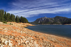 Lac Shasta Photo libre de droits