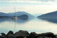 Lac Shuswap Images libres de droits