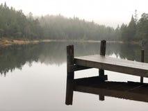 Lac silencieux images libres de droits