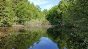 Lac silencieux photo stock