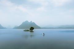 Lac silencieux Photographie stock libre de droits