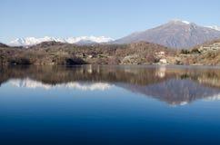 Lac Sirio - Ivrea - Piémont Image stock