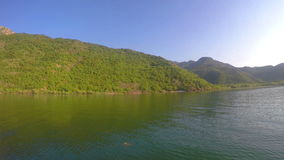 Lac Skadar montenegro banque de vidéos