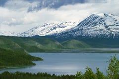 Lac Skilak Images libres de droits