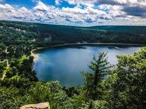 Lac sky photos libres de droits