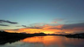 Lac sky image stock
