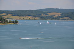 Lac Slovaquie Domasa Photo stock