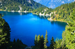 Lac snow, Washington Photographie stock