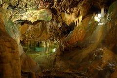 Lac souterrain Photo libre de droits