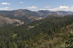 Lac Spaulding en sierra chaîne de Nevada Photos libres de droits