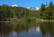 Lac Sprague Photo libre de droits
