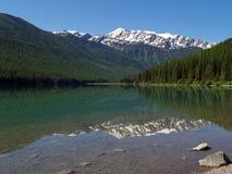 Lac Stanton Images libres de droits
