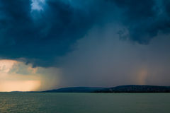 Lac storm photo stock