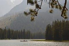 Lac string en parc national grand de Teton, Wyoming, Etats-Unis photo libre de droits