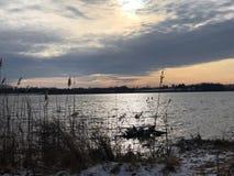 Lac Strouble Photo libre de droits