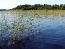 Lac Suède Siljan photographie stock libre de droits