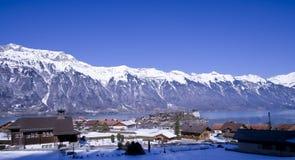 Lac suisse Photos stock