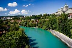 lac Suisse de Berne image stock