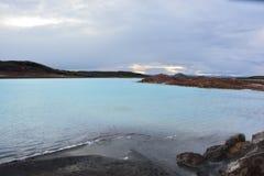 Lac sulfur Photos stock