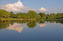 Lac summer Photo libre de droits