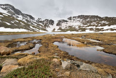 Lac summit Photo stock