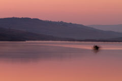 Lac sunrise Photographie stock libre de droits