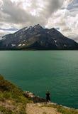 Lac supérieur 4 Kananaskis Images libres de droits