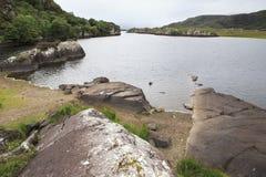 Lac supérieur en parc national de Killarney Image libre de droits
