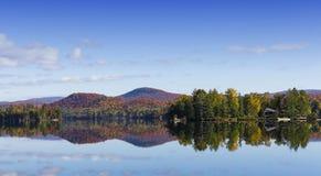 Lac-Superieur, Mont-tremblant, Квебек, Канада Стоковое Изображение RF