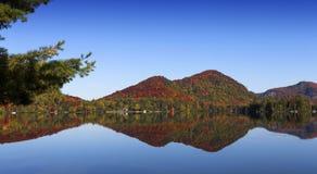 Lac-Superieur, Mont-tremblant, Квебек, Канада Стоковая Фотография