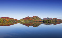Lac-Superieur, Mont-tremblant, Quebec, Canada Royalty Free Stock Images