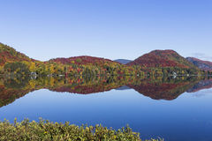 Lac-Superieur, Mont-tremblant, Quebec, Canada Stock Photo