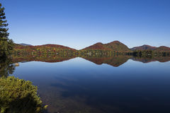 Lac-Superieur, Mont-tremblant, Quebec, Canada Stock Photography