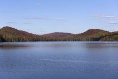 Lac-Superieur, Mont-tremblant, Quebec, Canada. View of the Lac-Superieur, in Laurentides, Mont-tremblant, Quebec, Canada Stock Images