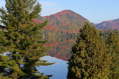 Lac-Superieur, Mont-tremblant, Quebec, Canada Stock Photos