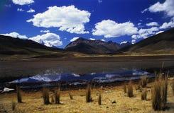Lac sur la région de Valey Kaca Photos stock