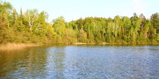 Lac Sweeney - le Wisconsin Photographie stock